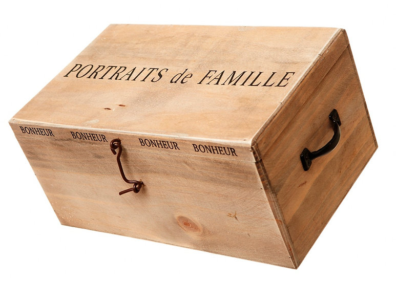 'Portraits De Famille' Photo Album Box