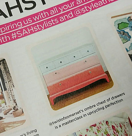 In the Press - A Twist of Somerset - Style at Home Magazine