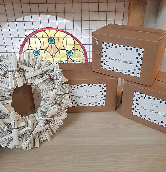 Adult Craft Set - Scroll Paper Wreath Kit