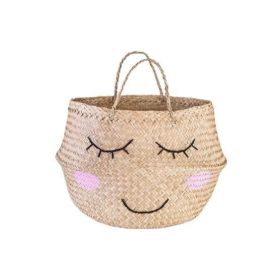 Seagrass Sweet Dreams Storage Basket