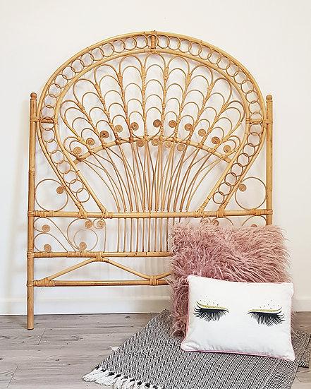 Boho Bamboo Headboard | Single Bed