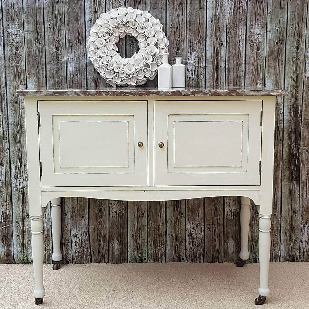 Georgian Marble Top Wash Stand