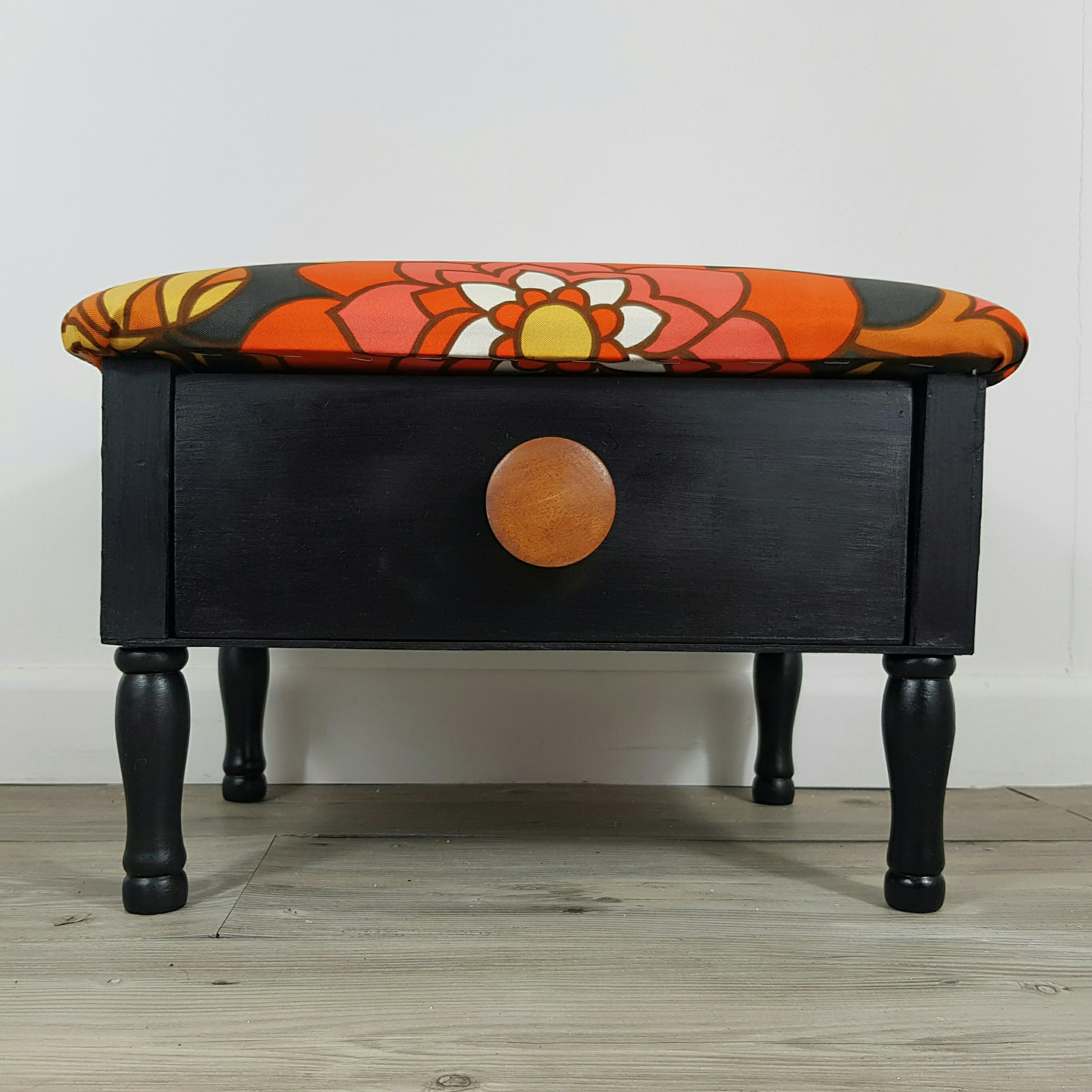 1970s Styled Footstool