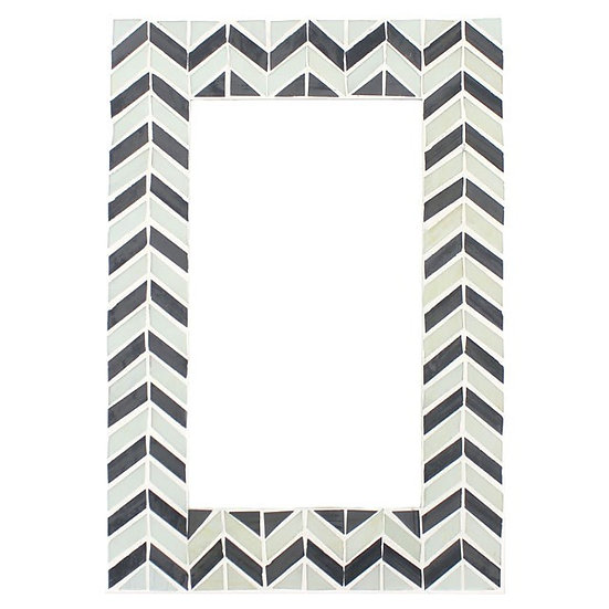 Chevron Mosaic Wall Mirror