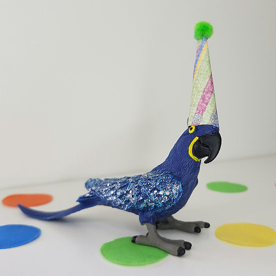 Macaw - Party Animal Cake Topper