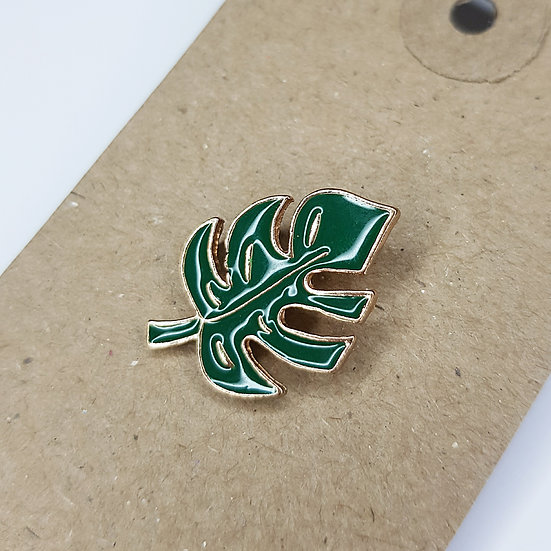 Monstera Leaf - Enamel Pin