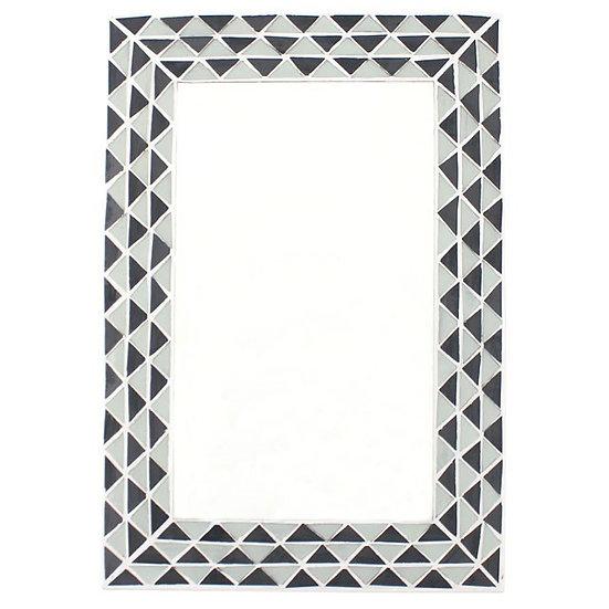 Triangle Mosaic Wall Mirror