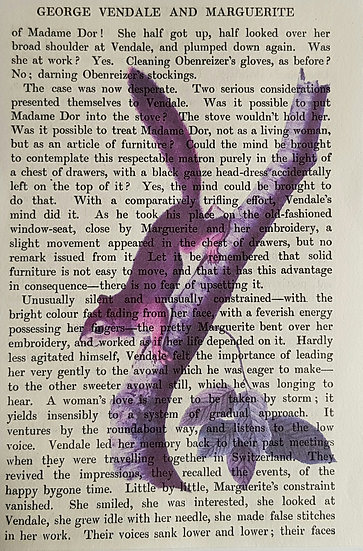 Squirrel - Vintage Book Page - Art Print - 4 x 6 Inch