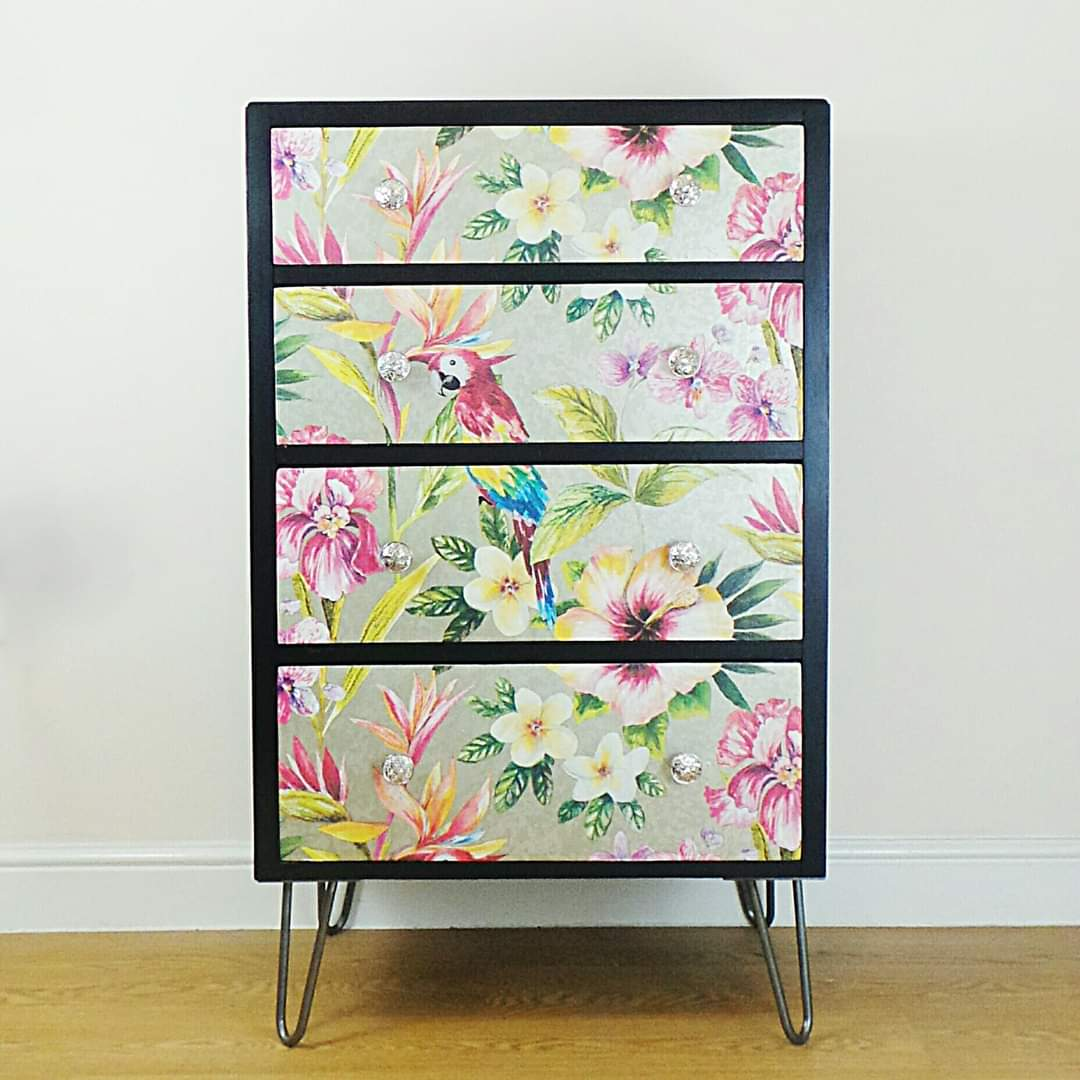 Tropical Chest of Drawers