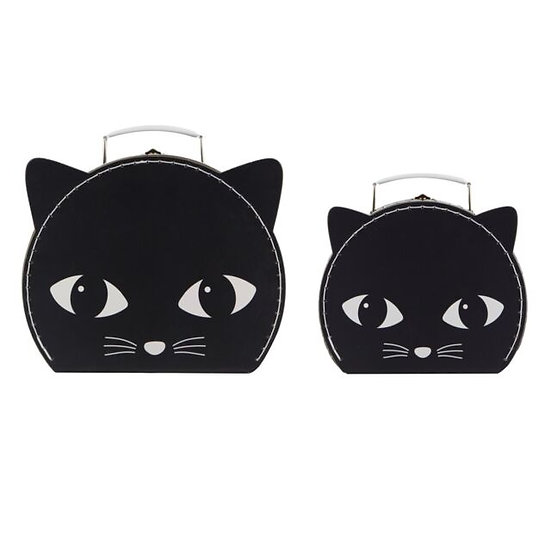 Black Cat Cases - Set of 2
