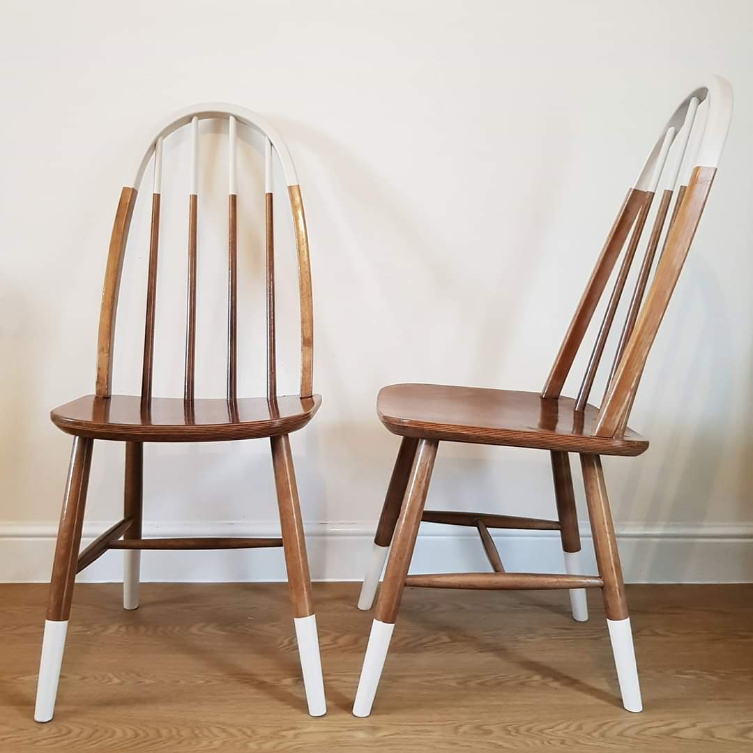 Top and Tail Dipped Chairs