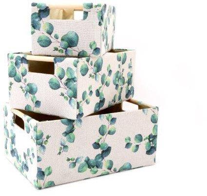 Eucalyptus Storage Baskets - Set of 3