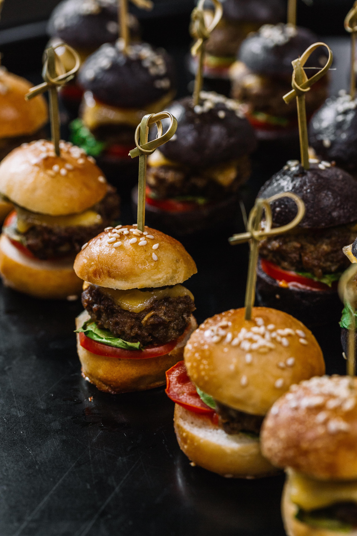 Mini burger pour l'apéritif