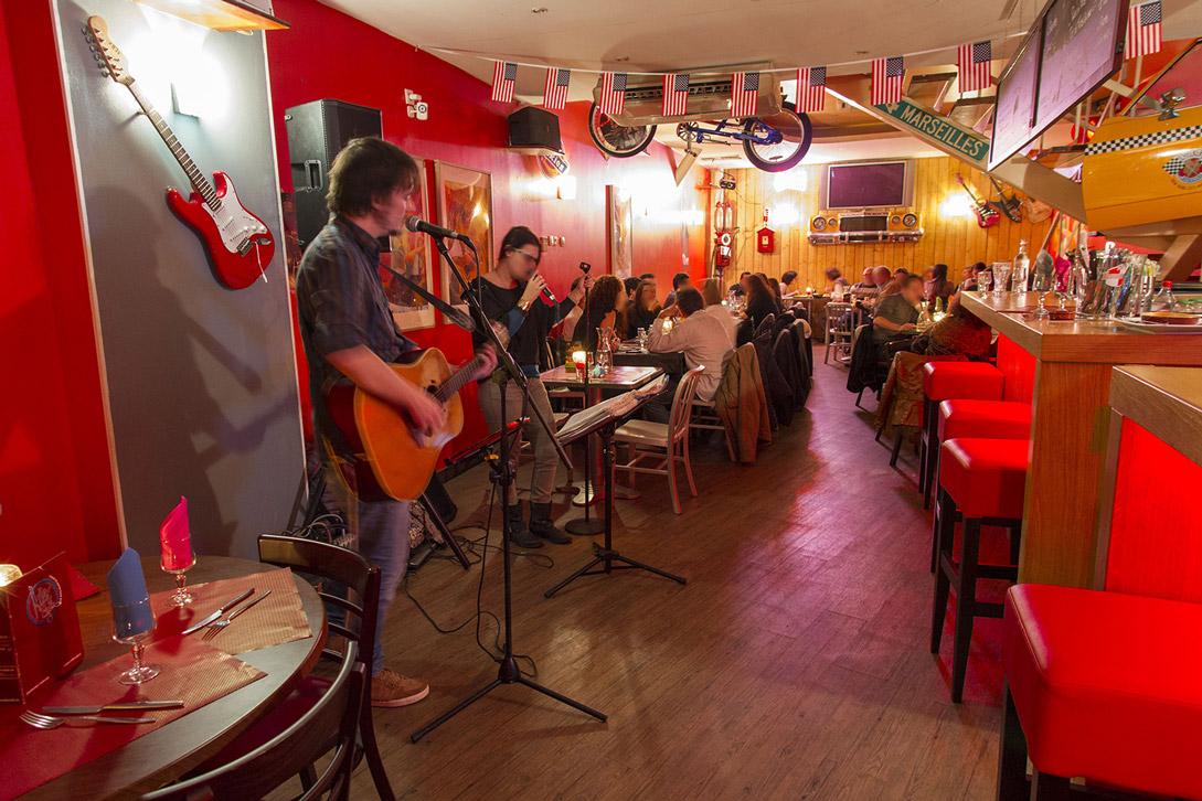 Salle du Melo Restaurant Marseille