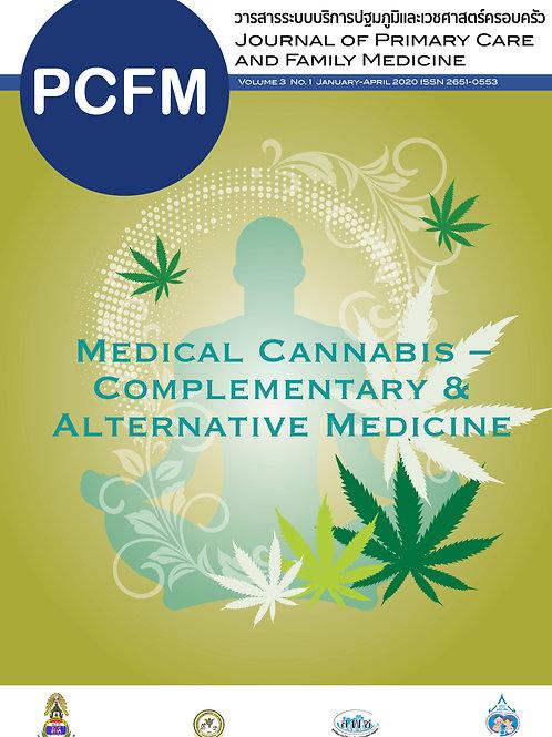 PCFM Vol.3 No.1 JAN - APR 2020:Medical Cannabis