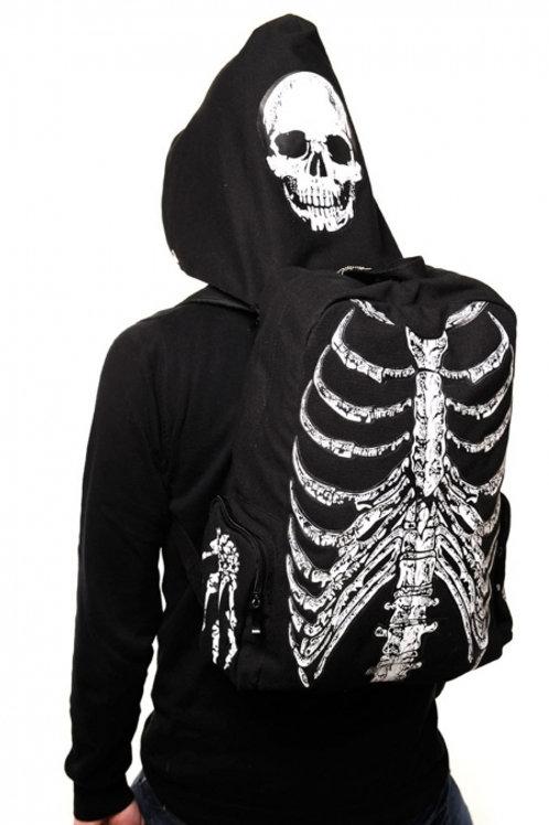 Banned apparel skellington backpack