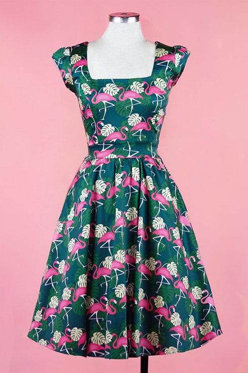 Flamingo swing dress size 8