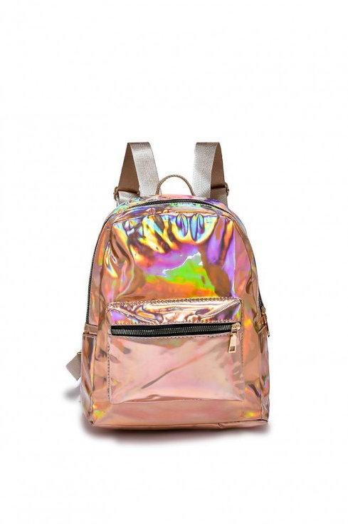Holographic mini rucksack