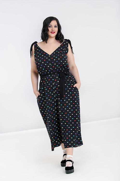 True love' hearts jumpsuit