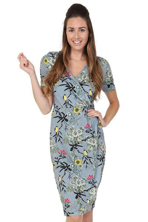 Canary' sarong dress