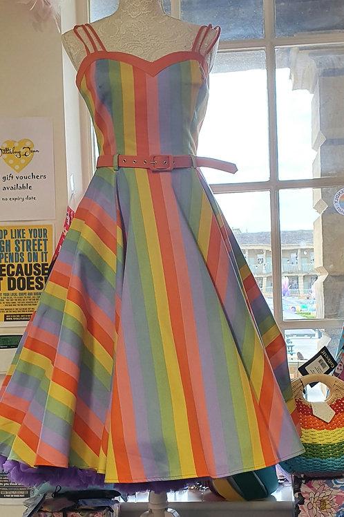 Collectif Nova' rainbow dress
