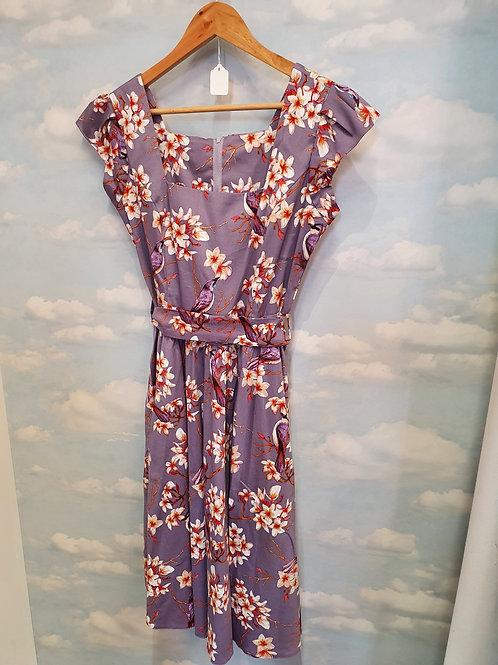 Lilac swing dress size 12
