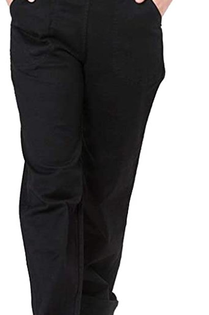 Weston black denim jeans