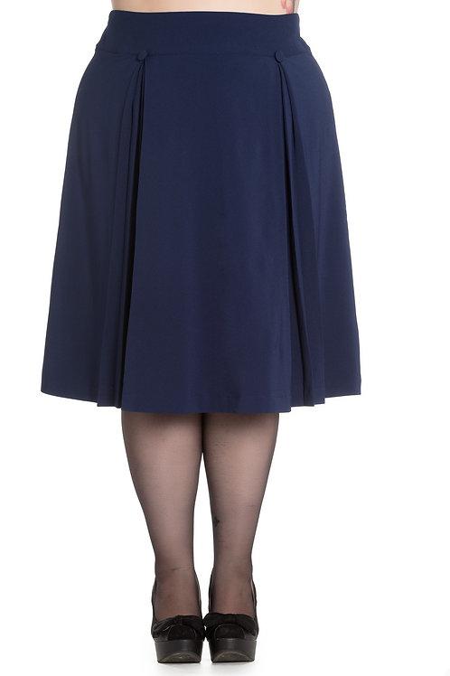 Navy 50's style skirt