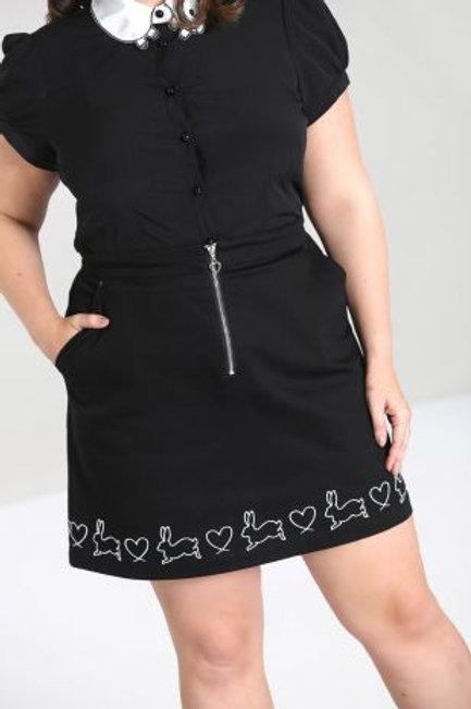 Hop along mini skirt