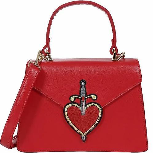 Collectif heart & dagger bag