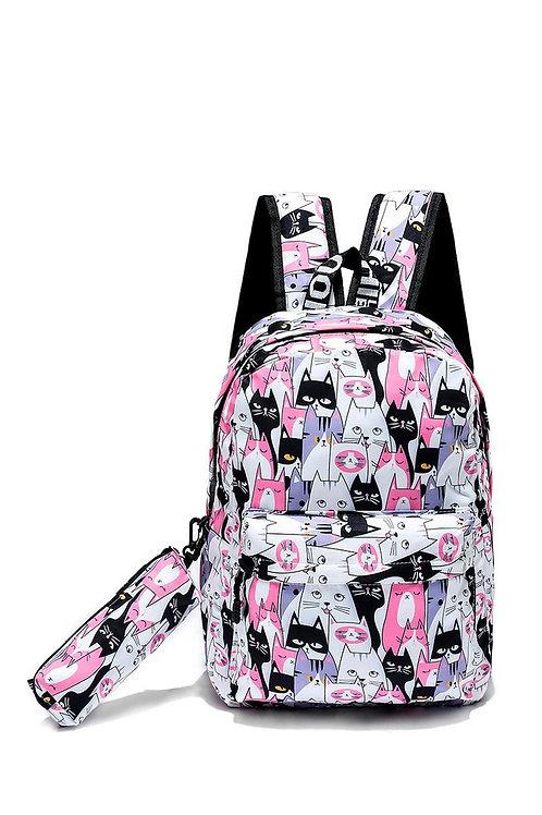 Cat face rucksack