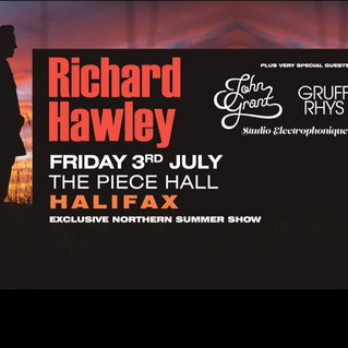 Richard Hawley 3rd July 2020