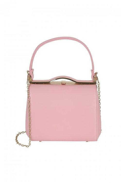 Collectif pastel pink carrie bag