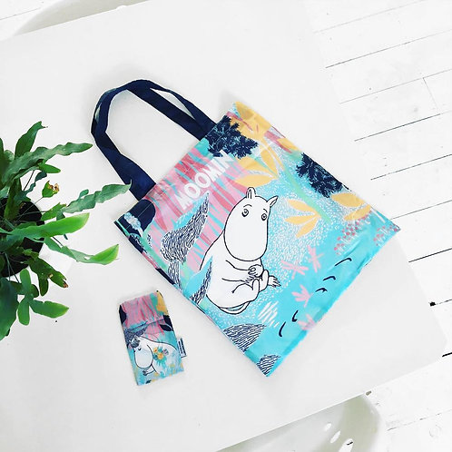 Moomins fold up shopper made from recycled bottles
