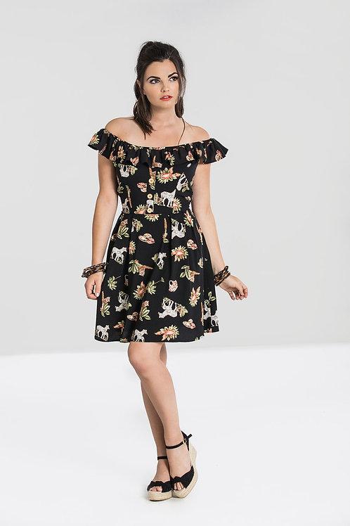 Messina safari mini dress