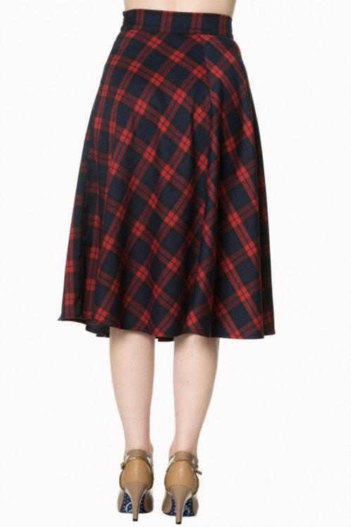Apple of my eye' check skirt