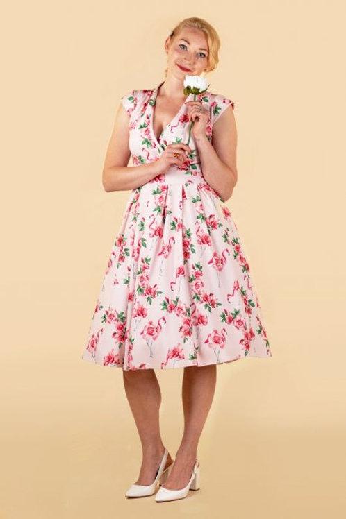Eva' flamingo rose size 14