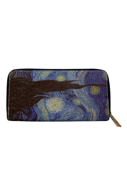 Van Gogh 'starry night print purse