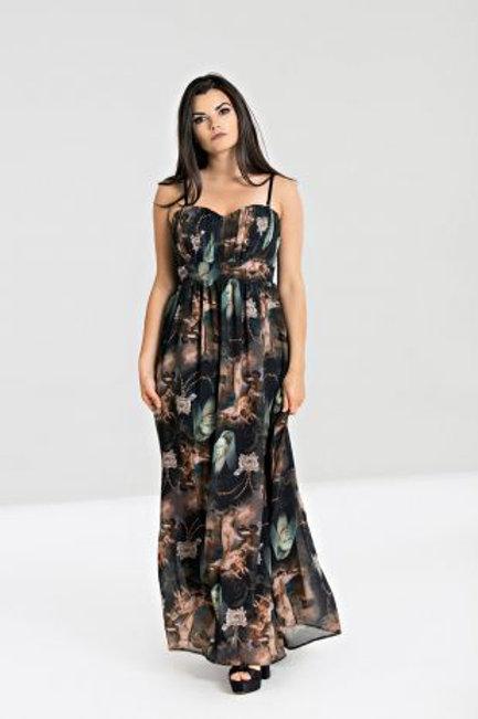 Renaissance maxi dress