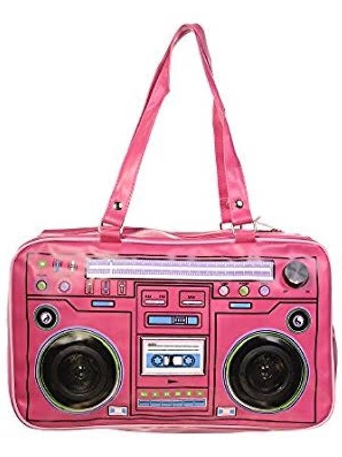 Radio with speakers bag