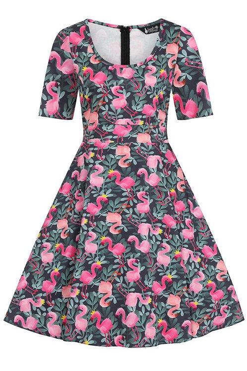 Lady V phoebe flamingo dress