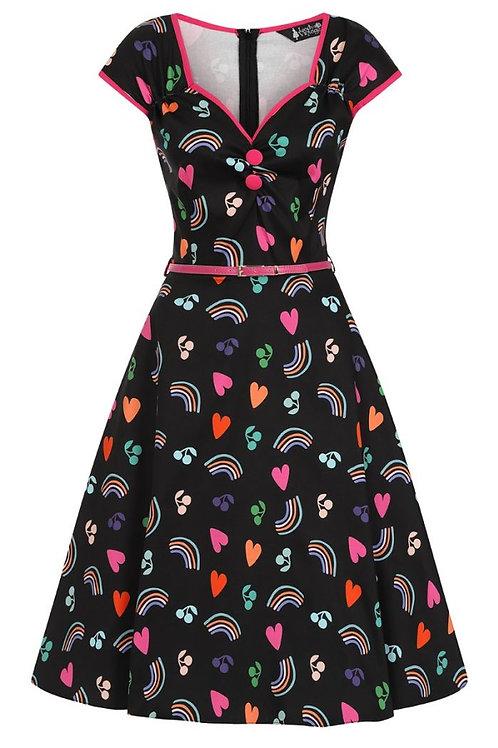 Lady V rainbow dress