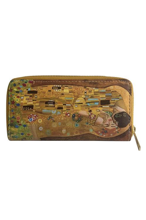 Klimt The Kiss Print purse