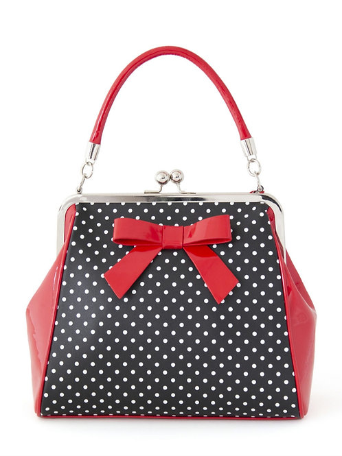 Banned retro' polka dot vintage style bag