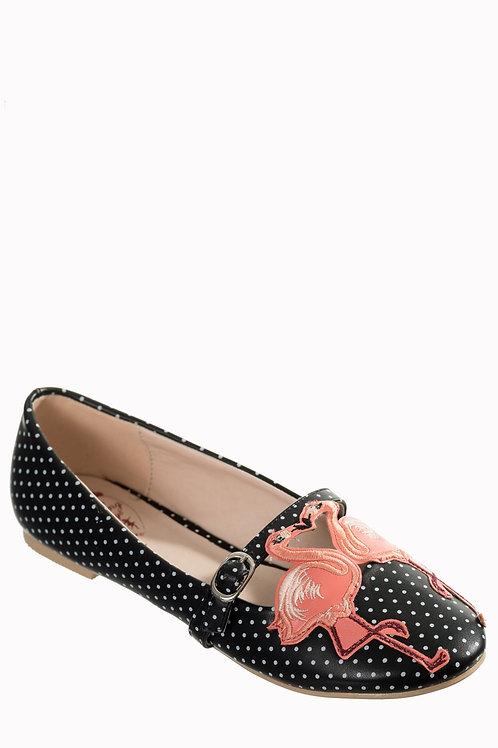 Flamingo mary jane shoes