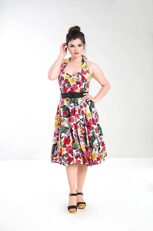 Mexico 50s style dress