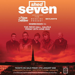 The Piece Hall Shed Seven