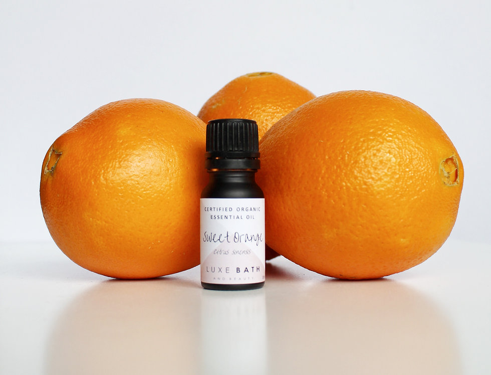 ORGANIC SWEET ORANGE ESSENTIAL OIL - 10ML