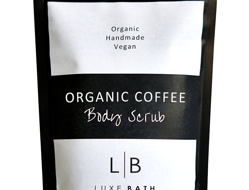 ORGANIC COFFEE BODY SCRUB