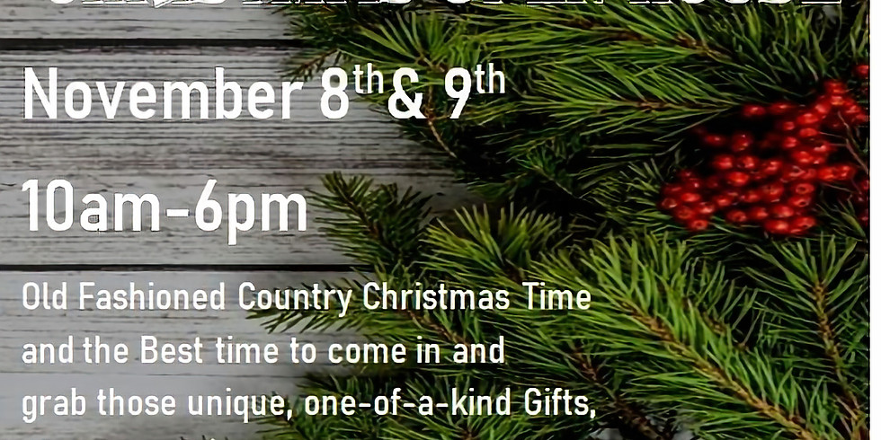 Good Ol' Country Christmas Open House